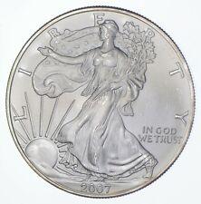 Better Date 2007 American Silver Eagle 1 Troy Oz .999 Fine Silver *498