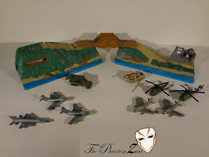 Micro Machines Battle Zones - Black Tiger Delta Vietnam Era Lot