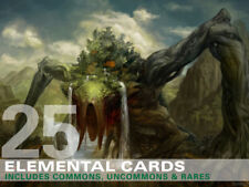 25X Elemental Cards (Includes Rares!) MTG Magic -25 Card Lot Collection Deck-