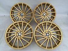 20 Zoll Ultra Wheels UA9 Alu Felgen 8,5x20 et45 5x112 gold Gutachten CVT GTI