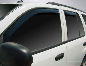 In-Channel Vent Visors for 2006 - 2009 Chevy Trailblazer SS
