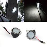 Luces de charco de espejo lateral 6000K 18LED para Ford Mondeo Mk5 Edge F-150