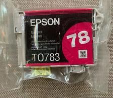 GENUINE Epson 78 T0783 Magenta Ink for Artisan 50 Stylus R380 RX580 RX595