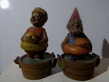 """Tom Clark Gnome Dated 1990 Name-Butterfly & Buddy 4 1/2"""""""
