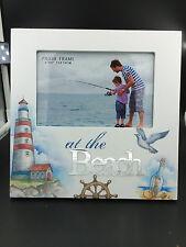 """New Wood """"Beach """" Theme Photo Frame Home Decor gift idea for Beach Lover"""