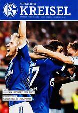 Programm | 2012-2013 | FC Schalke 04 v SC Montpellier | UEFA Champions League