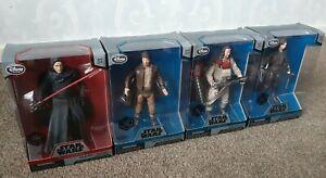 Star Wars Elite Series Die Cast Figure Bundle X4 Figures