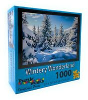 Puzzle Works 1000 Piece Jigsaw Puzzle Landscape - Beautiful Wintery Wonderland