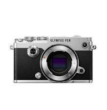 NEW Olympus  PEN-F 20.3 MP Digital Camera - Silver (Body Only)