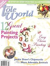 TOLE WORLD : Vol 23 No 1 - February 1999 - Back Issue!