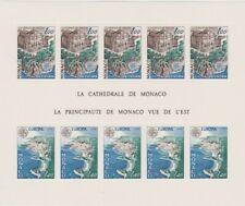 MONACO 1978 EUROPA CEPT - ART- ARCHICTECTURE - LA CATHEDRALE DE MONACO