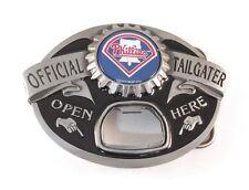 PHILADELPHIA PHILLIES TAILGATER BELT BUCKLE 21120 baseball sports belt buckles