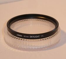 QUALITY COKIN 62mm SKYLIGHT 1A FILTER , CASED .  (cok62s)