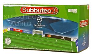 UEFA CHAMPIONS LEAGUE SUBBUTEO FENCE SURROUND. PAUL LAMOND TABLE SOCCER FOOTBALL