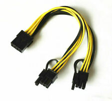 PCI-E 8-pin Male to 2*( 6+2)pin Female Power Y-Splitter Graphic Card cable