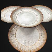 "Laurie Gates California Designs Dinnerware Set 4 Pcs 10.75""D Brown"