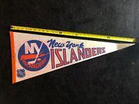 Vintage New York Islanders Pennant NHL