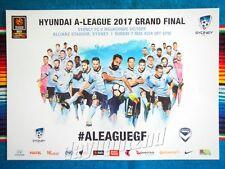 ✺New✺ 2016-17 SYDNEY FC Grand Final Premiers Poster - 42cm x 29.5cm 2017
