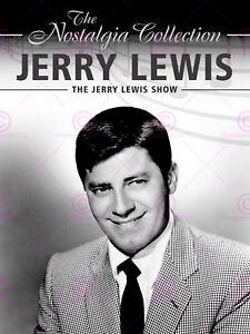 Movie Film Star Television Show Flyer Jerry Lewis Canvas Art Print