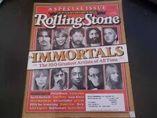 100 Greatest Artists of All Time - Rolling Stone Magazine 2005
