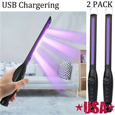 2x 30 LED Sterilize UV Light Germicidal Lamp Handheld Disinfection  Portable US