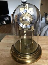 Stunning Very Unusual Gustav Becker Anniversary Clock With Plastic Dome