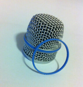 A PAIR of Shure Genuine Replacement Blue Rings for Beta56A and Beta57A - #66A310