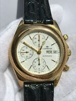 LORENZ CHRONOGRAPH AUTOMATIC VALJOUX 7750 DAY DATE MENS 40mm SWISS MADE