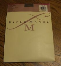 Vintage 1990's Field Manor Stretch Sheer Control Top Nos Taupe Sz A Style 233