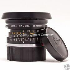 Leica Summicron 35mm f/2+HOOD 12504 - 1970LEITZ WETZLAR GREAT SHOOTER ++BOKEH++
