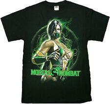 Mortal Kombat Jadein Fight Pose Adult T-Shirt - Arcade Video Game John Tobias