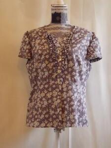 Phose Eight Top size 16  Shirt  Blouse  Short sleeve  Multi