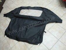 Capote Mazda Mx5 NA  miata mk1 1989/1998 pvc originale nero, lunotto con zip