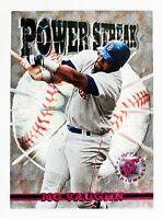 Mo Vaughn #PS9 (1996 Stadium Club) Power Streak, Boston Red Sox