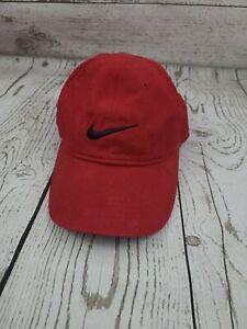 Nike Enfant Infant Child Adjustable Baseball Ball Cap Hat Red