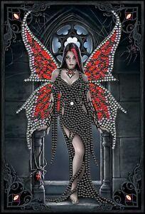 Craft Buddy Crystal Art Diamond Painting NOTEBOOK Aracnafaria  Anne Stokes NEW
