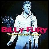 The Sound And The Fury, Billy Fury, Very Good Original recording remastered