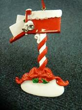 Rudolph & Me Christmas Mail Box Christmas Ornament NEW with Tag (o1691)