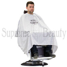 WAHL MANTELLA TAGLIO BARBER CAPE A RIGHE FINI PROFESSIONALE BARBIERE BARBER SHOP