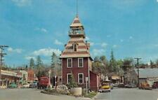 Old Firehouse AUBURN, CA Street Scene Fire Department ca 1960s Postcard
