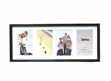4 Multi Aperture Black or White Photo Frame 4 x 6-inch Ideal for home /For Gift