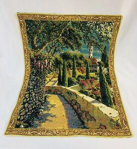 Flanders Tapestry Varena Vista 20.5 x 26 Wall Hanging Made in Belgium