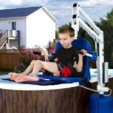 Aqua Creek Spa Lift Elite Pool Lift Chair for Elevated Pools and Spas No Anchor