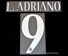 AC milan L.Adriano 9 Football Shirt Name/Number Set Kit Home Serie a 2015/16