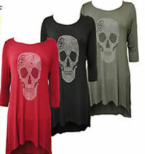 Unbranded Skull Fitted Tops & Shirts for Women