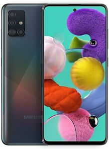 Samsung Galaxy A51 - SM-S515DL - 128GB - Black - TracFone - A Stock Excellent
