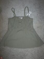 #8123  HARD TAIL COTTON SLEEVELESS TOP WOMEN'S SMALL GOOD USED