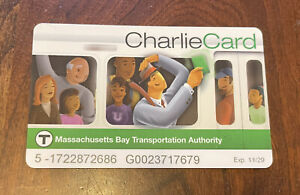 $100 MBTA CharlieCard ($100 Balance)