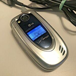 LG VX5200 Silver (Verizon) Cellular Phon Tested Working