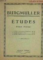 ETUDES POUR PIANO - 2° CAHIER : 18 ETUDES DE GENRE - OP.109.